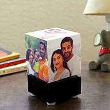 Personalized Rotating Lamp Mini: Personalised gifts for anniversary