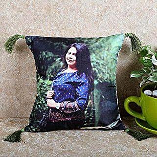 Personalized Stylish Cushion: Bhai Dooj Personalised Gifts