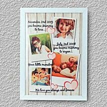 Personalized Treasured Memoray: Personalised Photo Frames