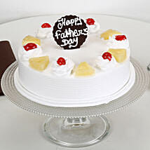 Pineapple Cream Cake For Dad: Fathers Day Cake