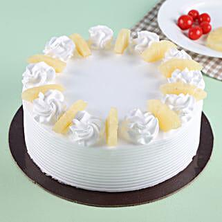 Pineapple Round Cake: Send Pineapple Cakes