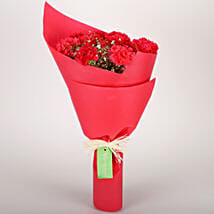 Pink Carnations Bunch: Gift For Boss