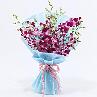 Purple Orchids: