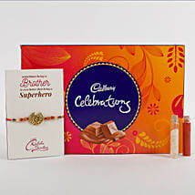 Rakhi Cadbury Celebrations Combo: Send Rakhi to Jaipur