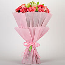 Ravishing Mixed Flowers Bouquet: Valentine Flowers to Gandhinagar