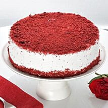 Red Velvet Fresh Cream Cake: Cakes for Sister