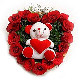Roses N Soft toy: Flowers & Teddy Bears Delhi