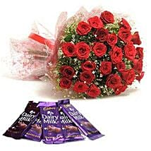 Rush Of Romance: Send Flowers to Shimoga