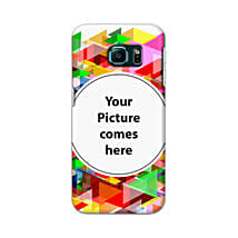 Samsung Galaxy S6 Edge Customised Vibrant Mobile Case: Personalised Back Covers