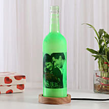 Shining Memory Personalized Lamp: Send Home Decor to Noida