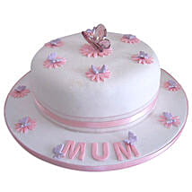 Simple and Sweet Love Mom Cake: Mothers Day Cakes Hyderabad
