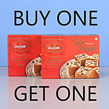 Soan Papdi Sweets- Buy 1 Get 1: Sweets for Diwali