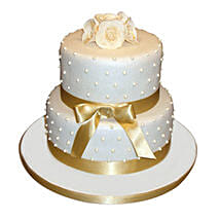 Special 2 Tier Anniversary Cake: Premium Cakes