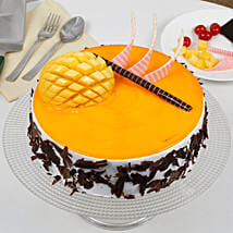 Special Mango Fruit Cream Cake: Send Cakes to Wayanad