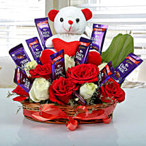 Special Surprise Arrangement: Send Birthday Flowers to Noida