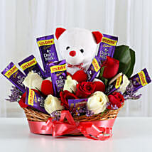 Special Surprise Arrangement: Valentine Flowers for Her