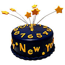 Starry New Year Cake: New Year Gifts for Girlfriend