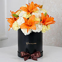 Sunny Hues Floral Beauty: Lilies