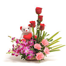 Sweet Inspiration: Flowers & Teddy Bears for Mothers Day