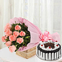 Sweet Treat with Flowers: Flowers N Cakes - anniversary