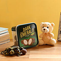 Teddy Bear & Amul Emerald Chocolate: Send Soft toys to Thane