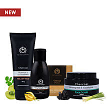 The Man Company Charcoal Power Pack: Cosmetics & Spa Hampers