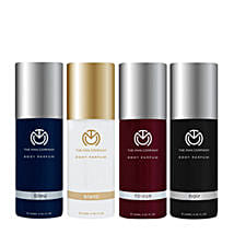 The Man Company Set of 4 Body Perfume: Send Fathers Day Gift Hampers