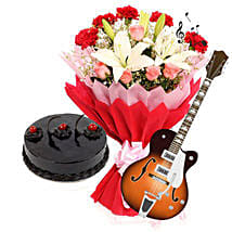 The Melodious Surprise of Love: Women's Day Flowers & Cakes