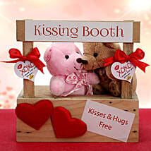 Two Kisses are Better Than One: Send Soft toys to Delhi