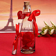 Unique Message In A Bottle: Valentine Personalised Gifts for Him