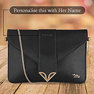 Fashionable Black Sling Bag: Handbags and Wallets