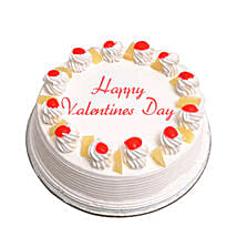 Valentine Special Pineapple Cake: Cakes to Nadiad