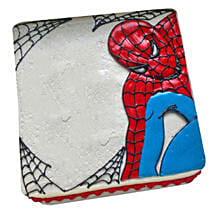 Web of Spiderman Cake: Cake Delivery in Tanur