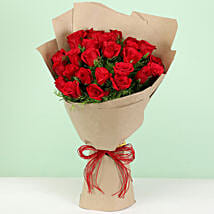 Beautiful 30 Red Roses Bouquet: Send Flowers to Mandi