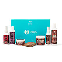 Wood Scented Complete Beard Care Gift Kit: Cosmetics & Spa Hampers