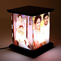 Wooden Personalized LED Lamp: