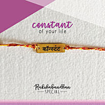 You Are My Constant Rakhi & Card: Send Rakhi to Gurgaon
