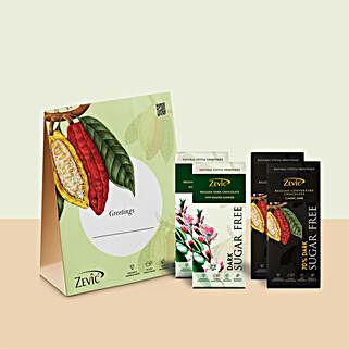Zevic Dark Chocolate Gift Pack: Send Diwali Gifts for Kids
