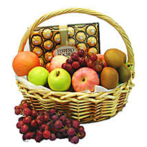 Energetic Fruit Basket: New Year Gifts Delivery In Malaysia