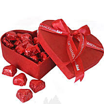 Special Assorted Chocolates in Red Heart Box: Gifts to Nepal