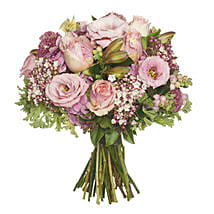 Blushing Pink Bouquet: Mother's Day Gifts to New Zealand