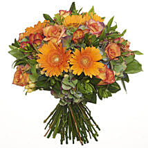 Bright Citrus Bouquet: Flower Delivery in New Zealand