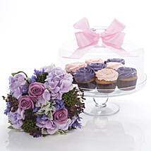 Flowers N Cakes Combo: Mother's Day Gifts to New Zealand