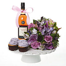 Lilac Extravaganza Combo: Friendship Day Gifts ti New Zealand