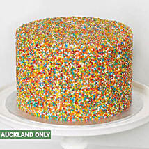 Mini Vanilla Colorful Cake: Send Cakes to New Zealand