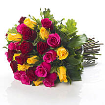Mixed Roses Bouquet: Romantic Gifts to Nz