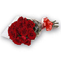 Bunch of 12 Red Roses OM: Birthday Gift Delivery in Oman