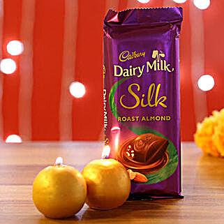 Dairy Milk Silk Roast Almond Candles