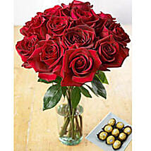 Redhot Delight: Flowers for Birthday