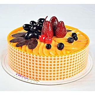 Tempting Mango Passion Cake